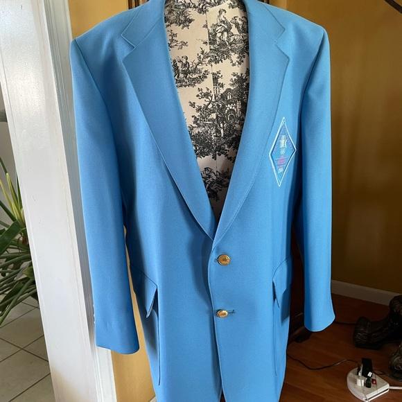 Vintage 1984 Los Angeles Olympian blazer.